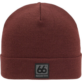 66° North Merino Hat Ox Blood